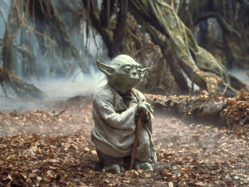 Image result for yoda meditate